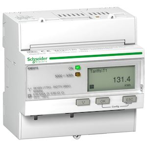 Acti9 iEM - compteur d'énergie tri - TI - multi-tarif - MID
