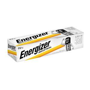 ENERGIZER PILE ALCALINE INDUSTRIAL 9Vx12. La performance Energizer pour les prof