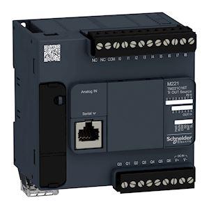 Modicon M221, contrôleur 16E/S PNP, port série, 24VCC