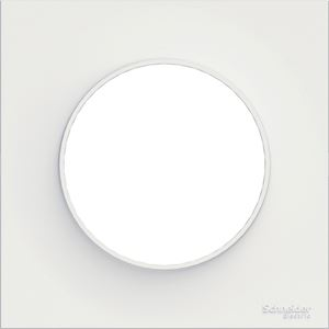 Odace Styl, plaque Blanc 1 poste
