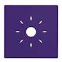 Coque violette à clipser compatible avec la gamme de détecteurs INSAFE