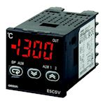 48x48 mm, entrée: tc/pt, modèle standard, affichage simple, 100-240 vc.a., sorti