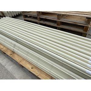 Protection PVC ivoire 90x90x2750mm