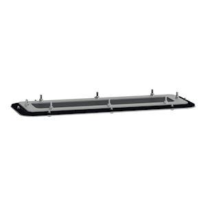 Spacial - plaque passe-câbles FlexiCable - pour coffret S3D - acier - 345x130mm