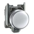 Harmony XB4 - voyant - avec LED - 24VACDC - D=22 - cabochon lisse blanc
