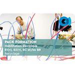 Habilitation électrique (NFC 18510), B1(v), B2(v), BC et/ou BR Recyclage, durée