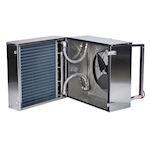 Aérotherme compact à eau 29kW pour environnements poussiéreux