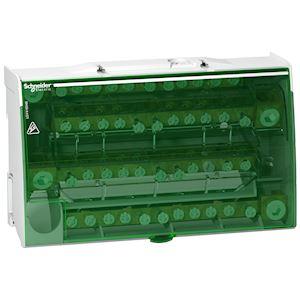 Linergy DS - répartiteur étagé tétrapolaire - 160A - 4x12 trous