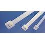 Colllier réouvrable à crantage intérieur 340x7.6 mm en PA66 Noir - RLT120