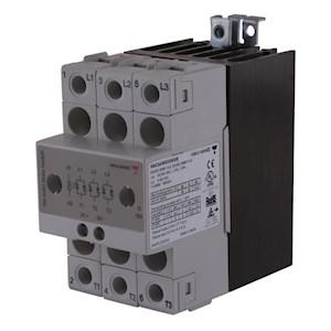 Contacteur statique 3ph 600V cmd cc zero de tension 3x20A