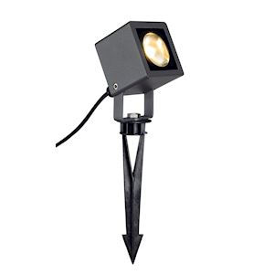 NAUTILUS SQUARE LED spot, carré, anthracite, 6,7W, 3000K