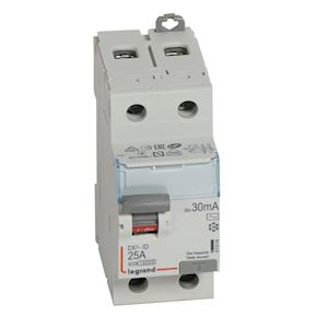 DX3 INTER DIFFERENTIEL 2P 25A AC 30MA