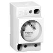 Prise de courant modulaire 16A 2P+T standard français 250V