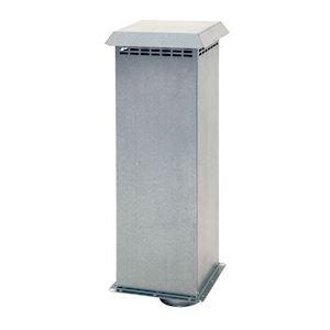 100/mm//10,2/cm Blanc Grille da/ération Gravity Rabat externe Ventilation Conduit Coque