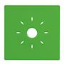 Coque verte à clipser compatible avec la gamme de détecteurs INSAFE