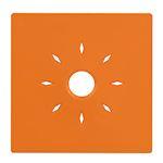 Coque couleur orange pour détecteurs INSAFE