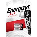 Pile miniature alcaline A23/E23A x 2 pour appareils electroniques