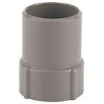 Embout PVC D=40, à coller, côté vissable sur Fitoflex réf 810600
