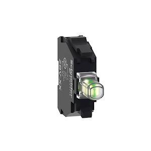 Schneider Electric NEUF Lumière DEL Bloc ZBV-M3 TELEMECANIQUE Vert ZBVM 3