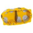 Boîte multipostes Prog. Ecobatibox - 2 postes - 4/5 modules - prof. 40 mm