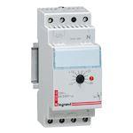 Thermostat modulaire d'ambiance de tableau avec réglage de 3 à 30DEGC - 2 module