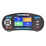 Controleur instal électrique écran tactile.Mes. boucle terre, isolt, terre, DDR