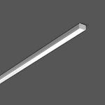 Rubans lumineux LED-Profil LS LED/18W-3000K 1003x18x10