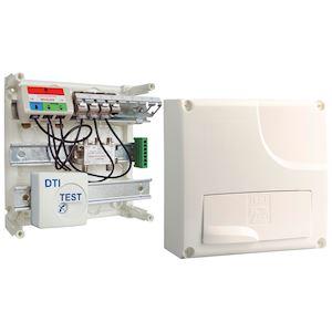 Tableau de com. DELTA initial Grd 1 - 4 RJ45 + TV coax.