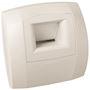 Bouche hygroréglable bain B21 Curve S 5-45 D 80 mm - Blanc