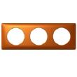 PLAQUE N3 3 POSTES (6 MOD) CUIVRE   DIY