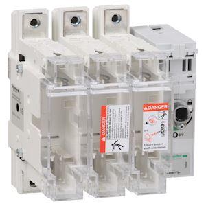 TeSys GS - interrupteur sectionneur fusible - 3P - 160A - din 0