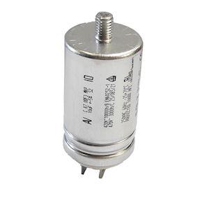 Condensateur µF 10 avec faston et queue