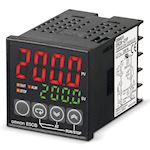 Régulateur de température, 48x48 mm, entrée capteur: pt100, 100-240 vc.a., sorti