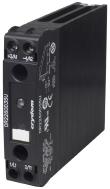 SSR RELAY, DIN RAIL MOUNT 22.5MM, 600VAC/20A, 90-280VAC/DC I