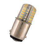 LED Ba15d T15X36 24V AC/DC 1.8W CW