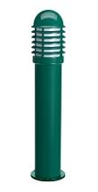 CALEO 1 - Borne Ext. IP44 IK07, vert, E27 100W max., lampe non incl., haut.73cm