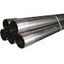 TUBE MRL fileté (ros) ø25/3m b30m acier électrozingué. protection des câbles