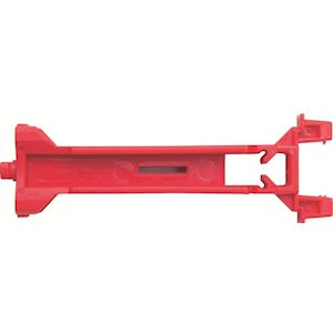 Support Rouge Plastrons Type A 88mm x 4