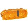 Boîte multiposte Batibox - cloison sèche - 3 postes - 6/8 mod - prof. 50 mm