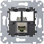 System M, mecanisme RJ45 Simple cat6A STP