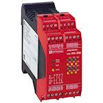 Preventa XPSDM - contrôleur - 2 détecteurs magnétiques codés - 24Vcc