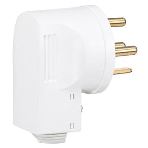 FICHE M COUDEE 3P+N+T 20A 380V BLANC