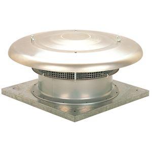 Tourelle d'extraction horizontale, 18400 m3/h, 4 pôles, tri 400V, D 710 mm