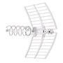 Antenne UHF ELIKA 800 canaux 21-60 dipole actif + pointeur emb.multi. G 47.5dB