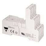 Socle relais RMI 4 rail DIN