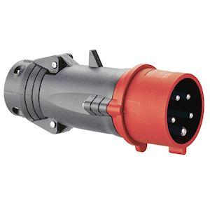 FICH D 16A 4P+T 400V PLAST 44