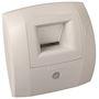 Bouche hygroréglable WC W13 Curve S 5/30 D 80 mm présence - Blanc