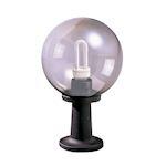 LUNA - Borne Ext. IP44 IK08, noir, E27 100W max., lampe non incl., haut. 41cm