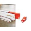 Embout gauche ou droit - pour goulotte à clippage direct Prog Mosaic 50x80