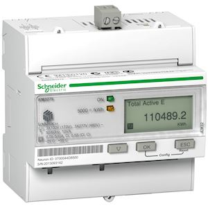 Acti9 iEM - compteur d'énergie tri - TI - multi-tarif - LON - MID